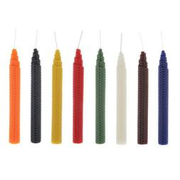 100% Pure Beeswax Candles,Hand Made Honeycomb Tapers Candles
