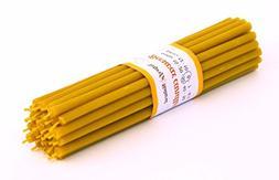 30 Natural 100% Pure Beeswax Taper Decor Candles  Natural Ho