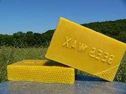 8 oz Pure Beeswax ~ Yellow Bees Wax~for pool table, cosmetic
