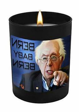 Bernie Sanders Bern Baby Bern-11 oz Natural Soy Hand Poured