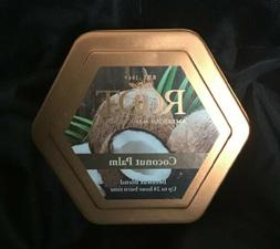 Candle Coconut Palm Scent Beeswax Blend 24 Hour Burn Time AI