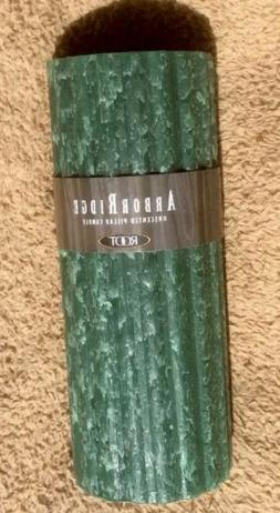 candles arborridge unscented pillar candle 3 x