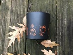 candles pumpkin scent noir collection ai 12