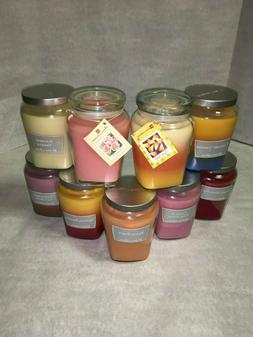 Extra Large Scented Candles in Glass Jars Home Interiors LIM