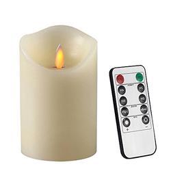 Air Zuker Flameless Candles Battery Operated Pillar LED Cand