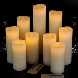 """Vinkor Flameless Candles Battery Operated Candles 4"""" 5"""" 6"""" 7"""