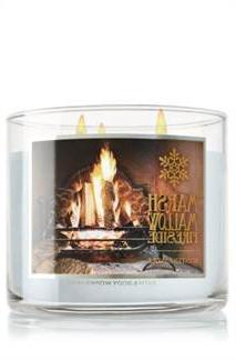 Bath & Body Works Marshmallow Fireside 3 Wick Scented Candle