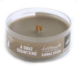 WoodWick SAND DRIFTWOOD Petite 1.1 oz Scented Candles