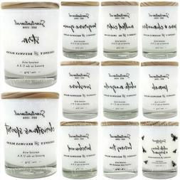 Scentsational Coconut & Beeswax Wax Blend 11oz Candle Jar -
