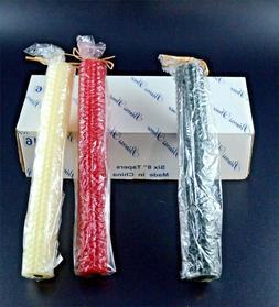 """PRINCESS HOUSE Six  8"""" Beeswax Tapers , Candles"""
