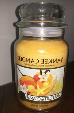 YANKEE CANDLE Star Fruit & Orange 22 Oz Yankee Candle New