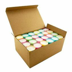 Stonebriar Multicolor Tea Light Candles-6 to 7 Hr Extended B