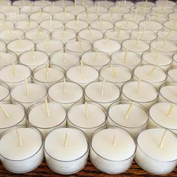 🐝 White Beeswax Tealights BULK 100% Pure Natural Candles